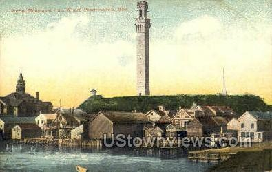 Pilgrim Monument - Provincetown, Massachusetts MA Postcard