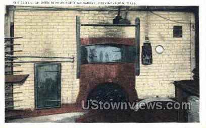 Old Dutch Oven - Provincetown, Massachusetts MA Postcard