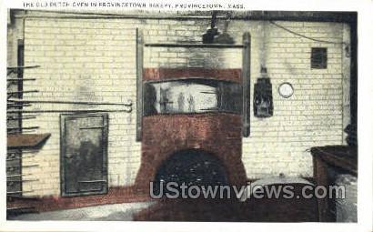 Provincetown Bakery - Massachusetts MA Postcard