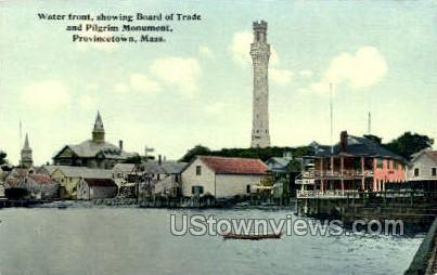 Water Front - Provincetown, Massachusetts MA Postcard