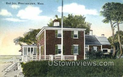 Red Inn - Provincetown, Massachusetts MA Postcard
