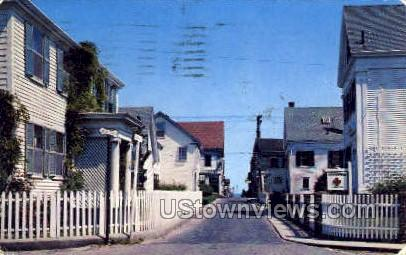 Gosnold St. - Provincetown, Massachusetts MA Postcard