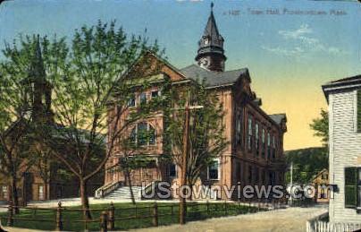 Town Hall - Provincetown, Massachusetts MA Postcard