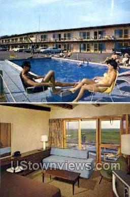 The Moors Motel - Provincetown, Massachusetts MA Postcard
