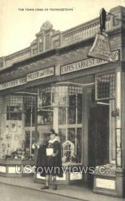 The Town Crier - Provincetown, Massachusetts MA Postcard
