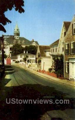Bradford St. - Provincetown, Massachusetts MA Postcard