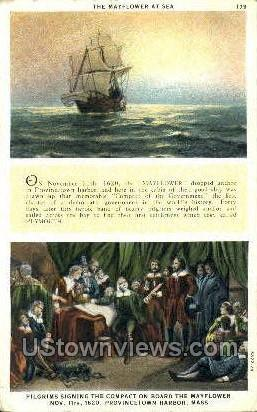 The Mayflower - Provincetown, Massachusetts MA Postcard