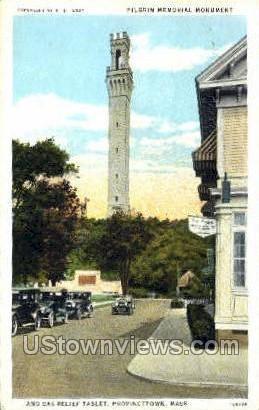 Pilgrim Memorial Monument - Provincetown, Massachusetts MA Postcard