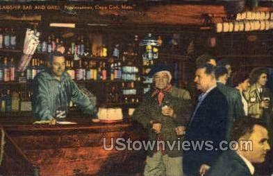 Flagship Bar & Grill - Provincetown, Massachusetts MA Postcard