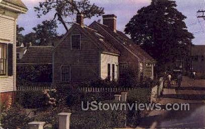The Oldest House - Provincetown, Massachusetts MA Postcard