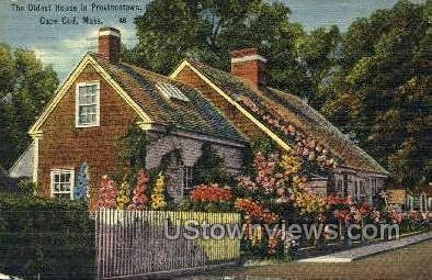 Old House - Provincetown, Massachusetts MA Postcard
