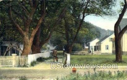 Kendall Lane - Provincetown, Massachusetts MA Postcard