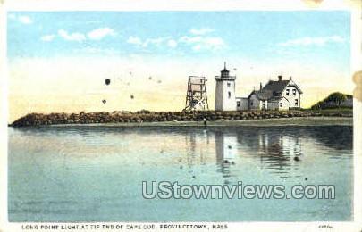 Long Point Light - Provincetown, Massachusetts MA Postcard