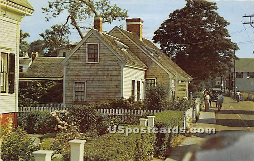 The Oldest House built 1747 - Provincetown, Massachusetts MA Postcard