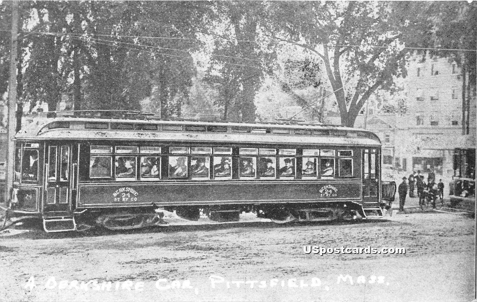 Berkshire Car - Pittsfield, Massachusetts MA Postcard