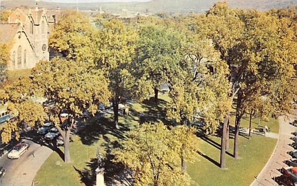 Park Square Pittsfield, Massachusetts Postcard