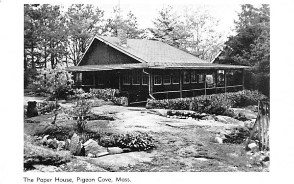 The Paper House Pigeon Cove, Massachusetts Postcard