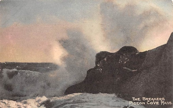 The Breakers Pigeon Cove, Massachusetts Postcard