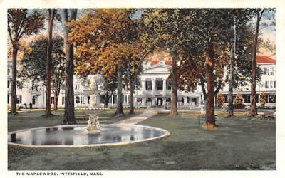The Maplewood Pittsfield, Massachusetts Postcard