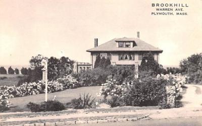 Brookhill Plymouth, Massachusetts Postcard