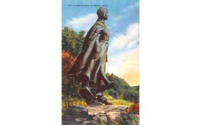 The Pilgrim Maiden Plymouth, Massachusetts Postcard
