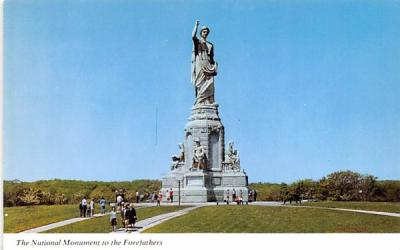 The National Monument to the Forefathers Plymouth, Massachusetts Postcard