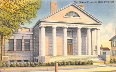 The Pilgrim Memorial Hall Plymouth, Massachusetts Postcard