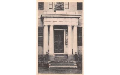 A Colonial Doorway Plymouth, Massachusetts Postcard