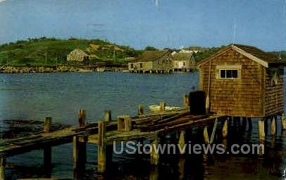 Old Oyster House - Cape Cod, Massachusetts MA Postcard