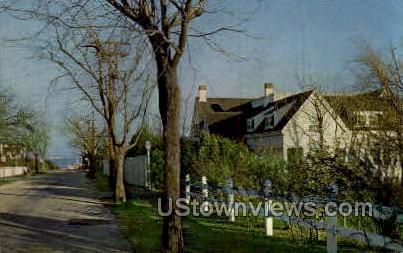 President Kennedy's Summer Home - Cape Cod, Massachusetts MA Postcard