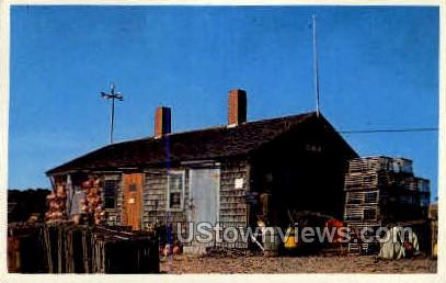 Lobster Shack - Cape Cod, Massachusetts MA Postcard