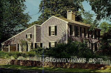 Yarmouthport Ols Salt Box House - Cape Cod, Massachusetts MA Postcard