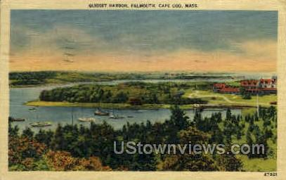 Quisset Harbor - Cape Cod, Massachusetts MA Postcard