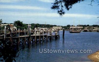 Hyannis Harbor - Cape Cod, Massachusetts MA Postcard