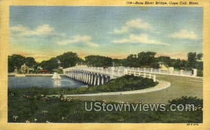 Bass River Bridge - Cape Cod, Massachusetts MA Postcard