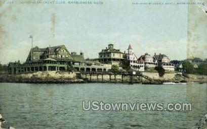 Corinthian Yacht Club - Marblehead, Massachusetts MA Postcard