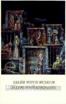 Salem Witch Museum - Massachusetts MA Postcard