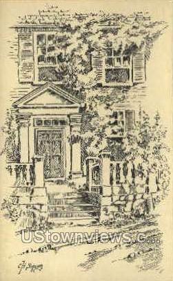 Salem, MA,     ;     Salem, Massachusetts Postcard