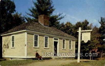 Village Printing Office - Worcester, Massachusetts MA Postcard