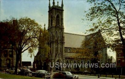 St. Paul's Cathedral - Worcester, Massachusetts MA Postcard