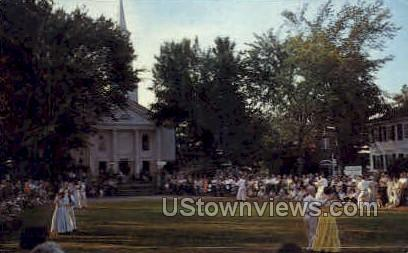 Storrowton, Eastern States Fair Grounds - Springfield, Massachusetts MA Postcard