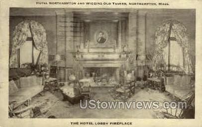Hotel Northampton, Wiggins Old Tavern - Massachusetts MA Postcard