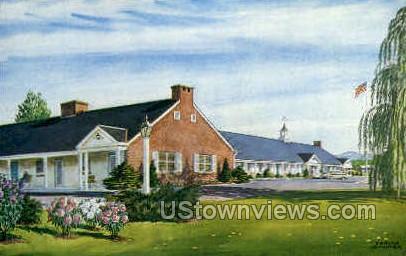 Jenny Lind Motel - Northampton, Massachusetts MA Postcard