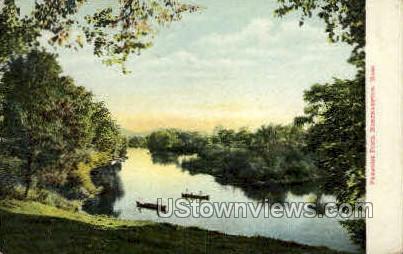 Paradise Pond - Northampton, Massachusetts MA Postcard