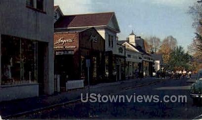 Green Street - Northampton, Massachusetts MA Postcard
