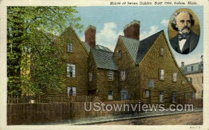 House of the Seven Gables - Salem, Massachusetts MA Postcard