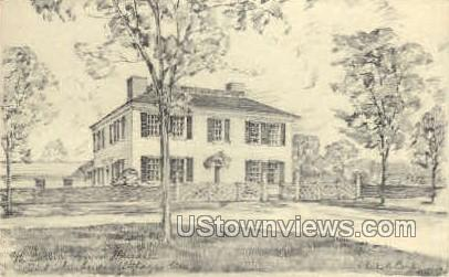 Salem Towne House - Old Sturbridge Village, Massachusetts MA Postcard