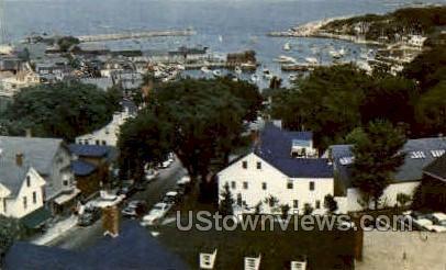 Rockport Harbor - Cape Ann, Massachusetts MA Postcard