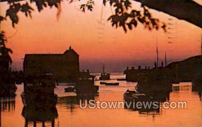 Crack O Dawn - Rockport, Massachusetts MA Postcard