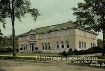 Museum of Natural History - Pittsfield, Massachusetts MA Postcard